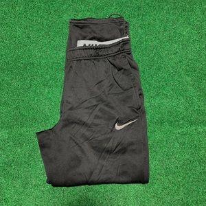 Mens Black Therma-Fit Nike Sweatpants medium
